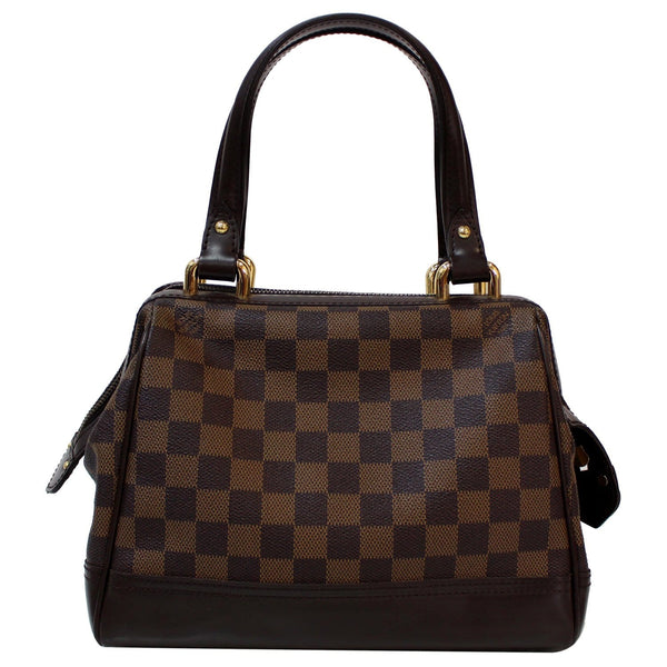 Front look Louis Vuitton Knightsbridge Damier Ebene Bag
