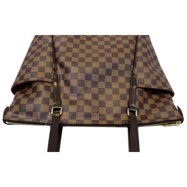 Louis Vuitton Totally MM Damier Ebene Shoulder Bag- front view