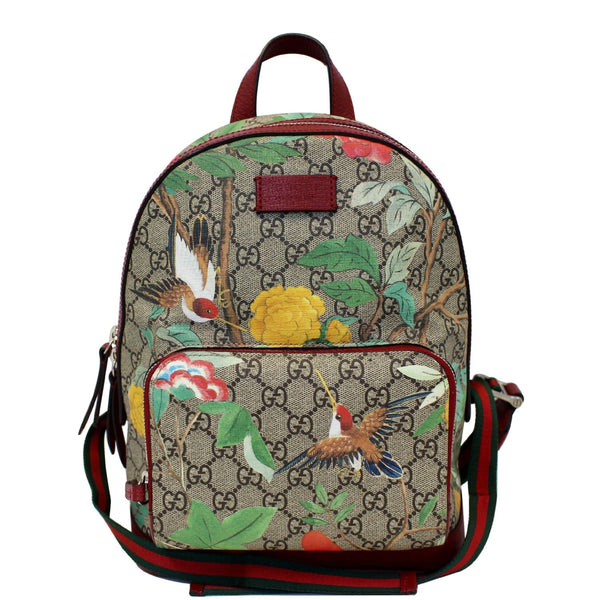 GUCCI GG Supreme Monogram Tian Animal Print Backpack 427042-US