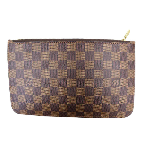 Louis Vuitton Pochette Wristlet Pouch Neverfull MM front view