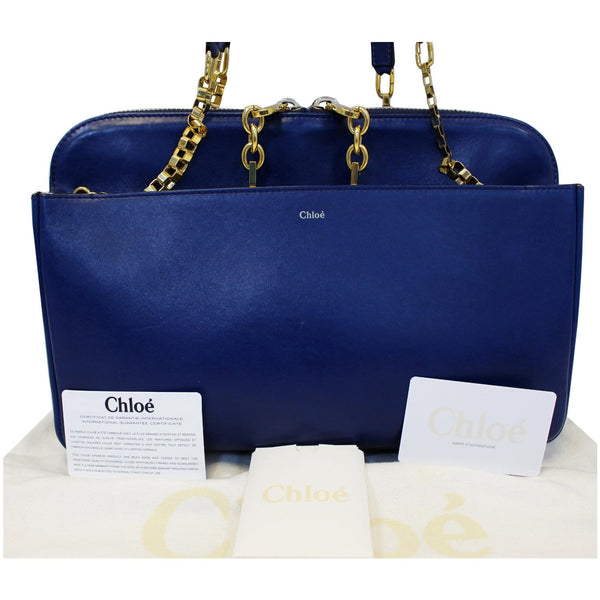 Chloe Shoulder Bag Lucy Medium Leather - chloe straps