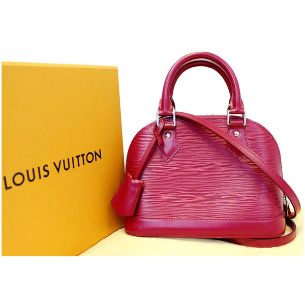 Louis Vuitton Alma BB Epi Leather Bag - Full Preview