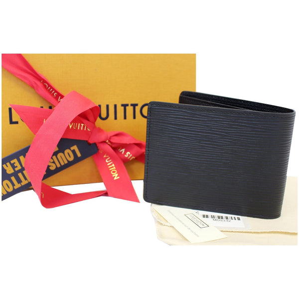Louis Vuitton Slender - Lv Epi Leather Wallet Black - Lv wallet