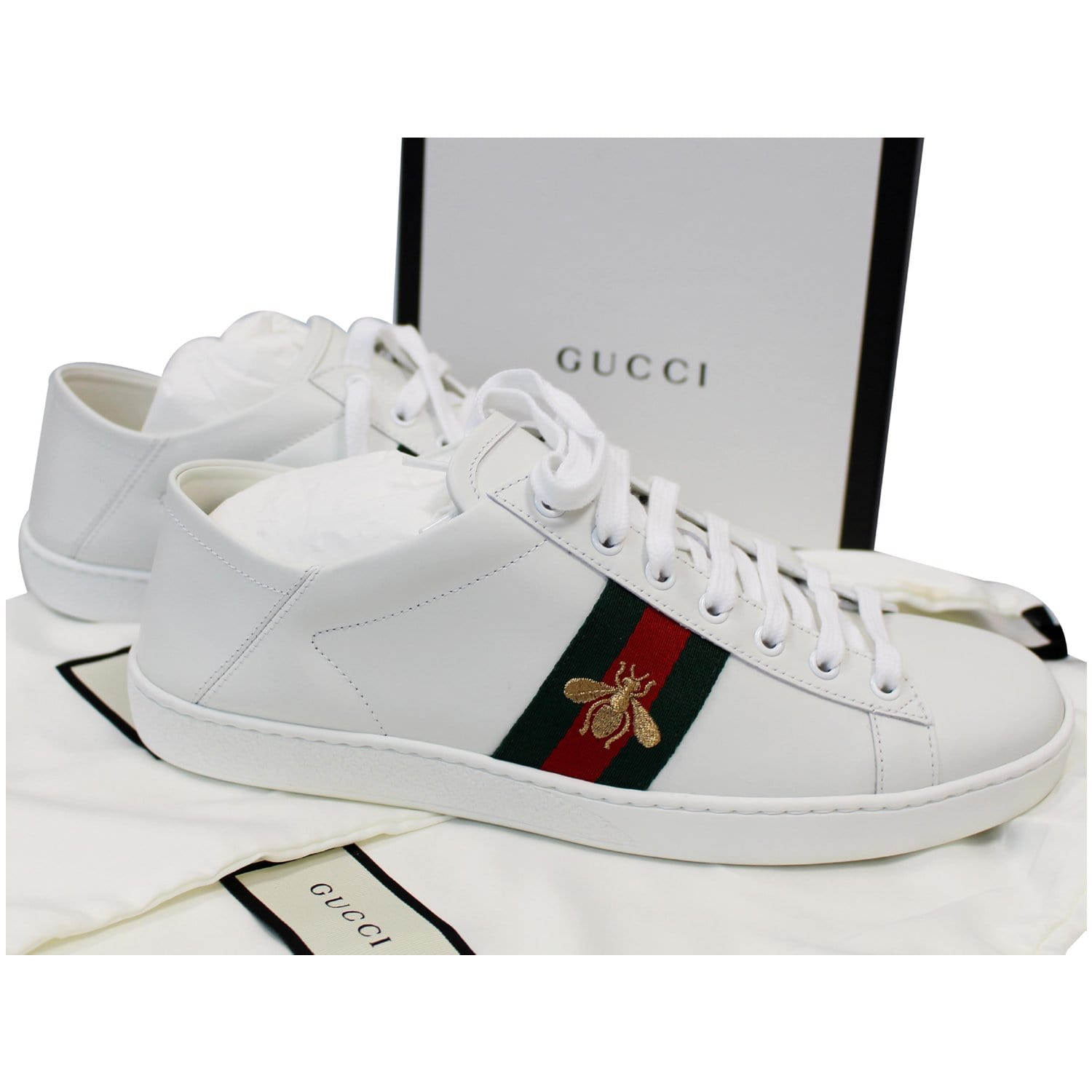 Gucci Ace Classic Low Top Sneakers