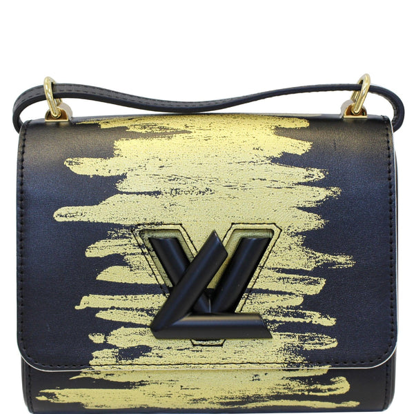 Louis Vuitton Twist PM Calfskin Leather Crossbody Bag
