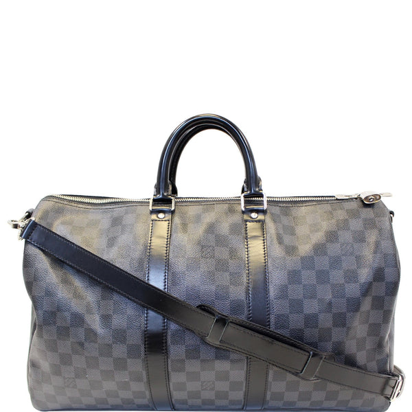 Louis Vuitton Keepall 45 Damier Bandouliere Travel Bag
