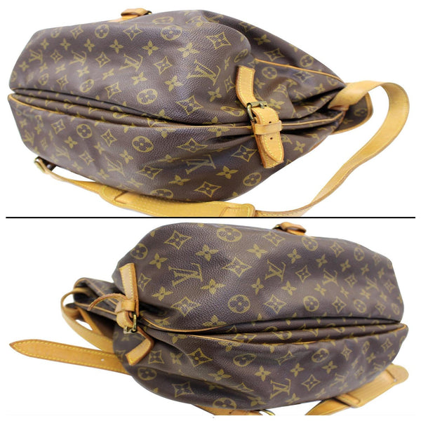 LOUIS VUITTON Saumur 35 Monogram Canvas Shoulder Bag-US