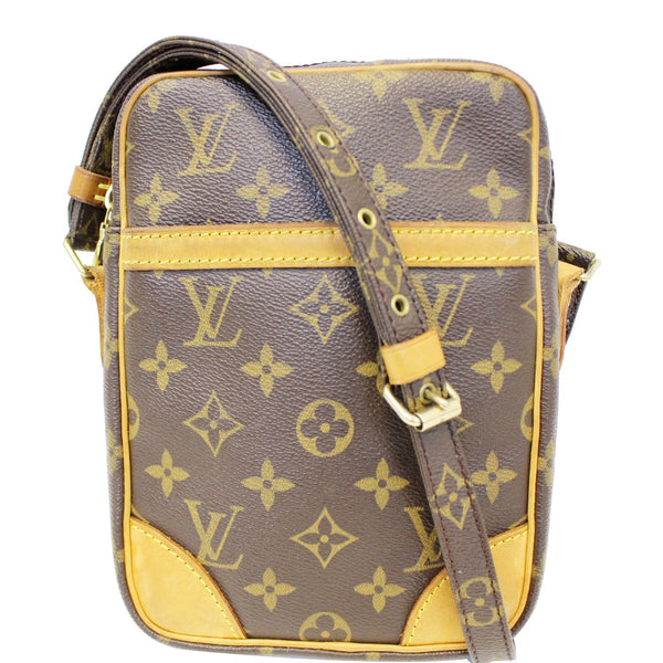 LOUIS VUITTON LV Danube Monogram Canvas Crossbody Bag Brown-US