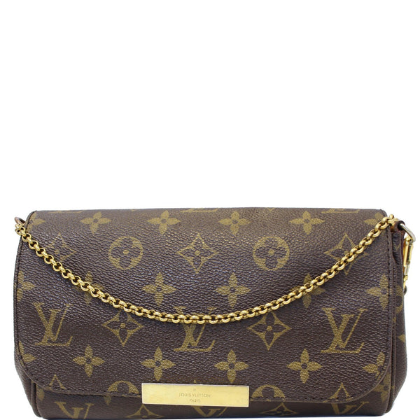 Louis Vuitton Favorite PM Monogram Canvas Crossbody Bag