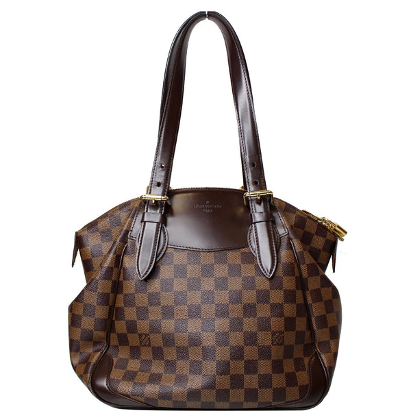 Louis Vuitton Verona MM Damier Ebene Satchel Bag