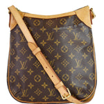 LOUIS VUITTON Odeon PM Monogram Canvas Shoulder Bag Brown