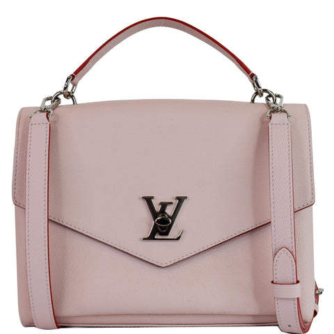 LOUIS VUITTON Mylockme Leather Crossbody Bag Pink - Daily Deal
