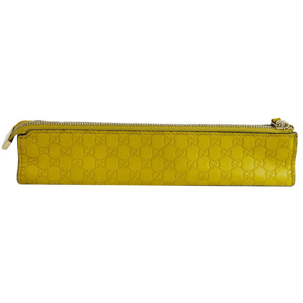 Gucci Microguccissima Pencil Pouch Yellow length view