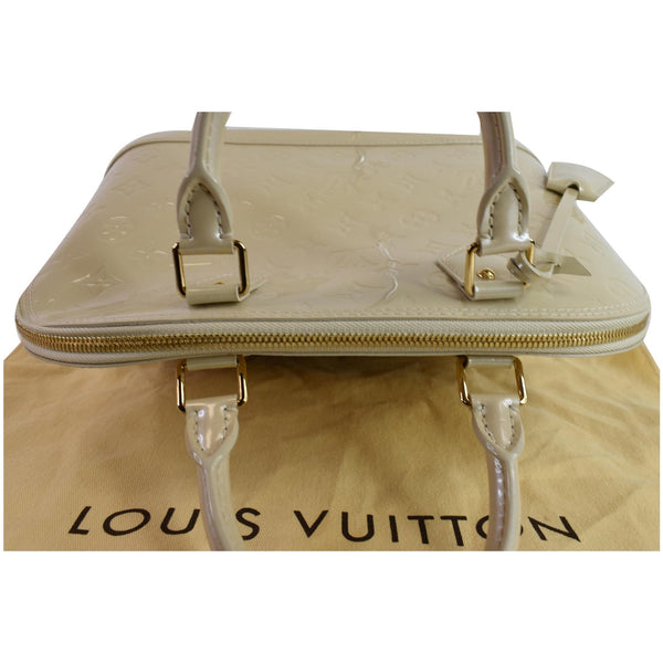 Louis Vuitton Alma PM Top zipper Satchel Bag