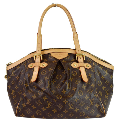 LOUIS VUITTON Tivoli GM Monogram Canvas Shoulder Bag Brown