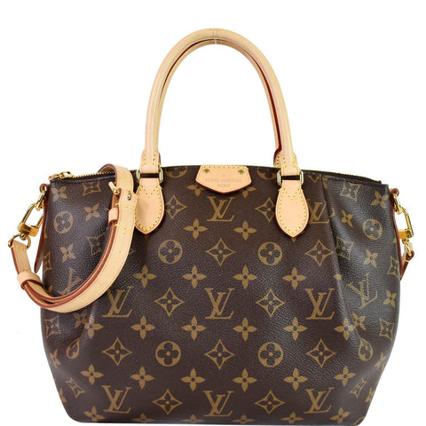 LOUIS VUITTON  Turenne PM Monogram Canvas Shoulder Bag Brown