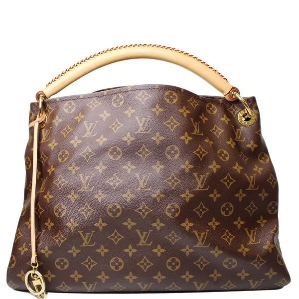 Louis Vuitton Artsy MM Monogram Canvas Hobo Style Bag
