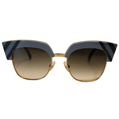 FENDI FF 0241/S Cat Eye Sunglasses Blue