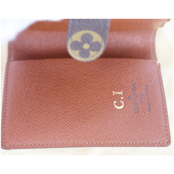 Lv Monogram Mini Agenda Notebook Cover