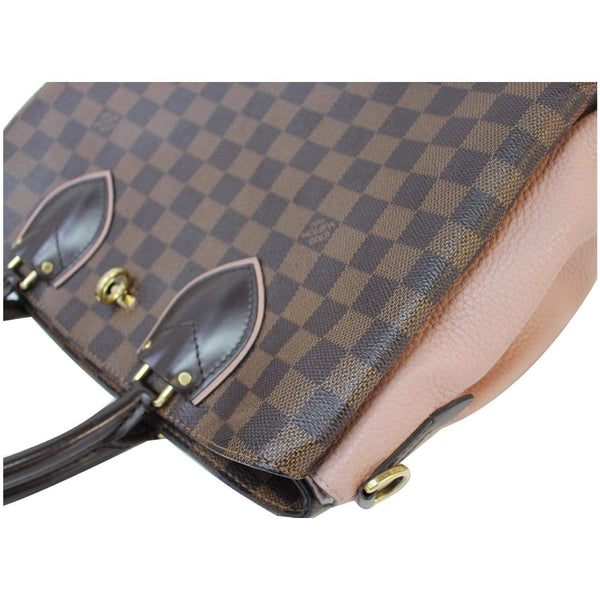 Louis Vuitton Normandy Damier Ebene Shoulder Bag brown