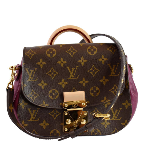 LOUIS VUITTON Eden PM Monogram Canvas Shoulder Bag Brown