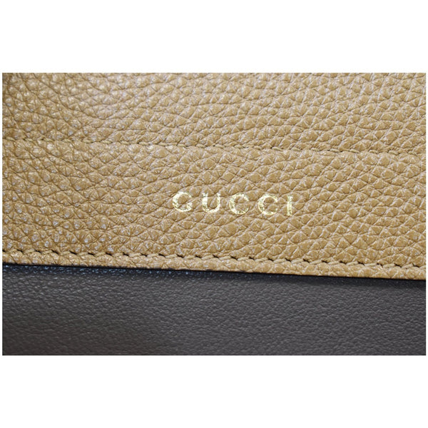 Gucci Medium Zumi Grainy Leather Bag Taupe
