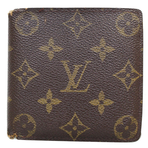 LOUIS VUITTON Multiple Monogram Canvas Wallet Brown