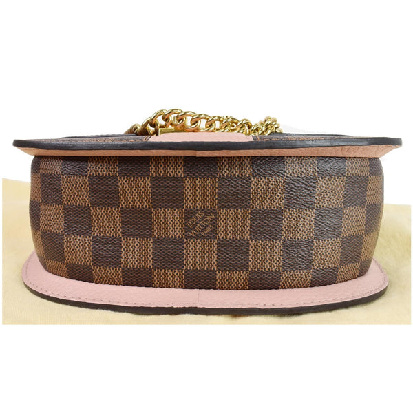 Louis Vuitton Wight Damier Ebene Crossbody Bag Magnolia - lv bottom