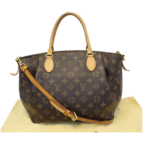 Louis Vuitton Turenne MM Monogram Canvas Bag Front