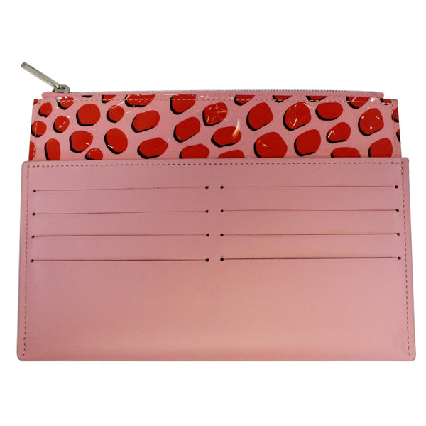 Louis Vuitton Vernis Jungle Dots Insert Wallet - Pink