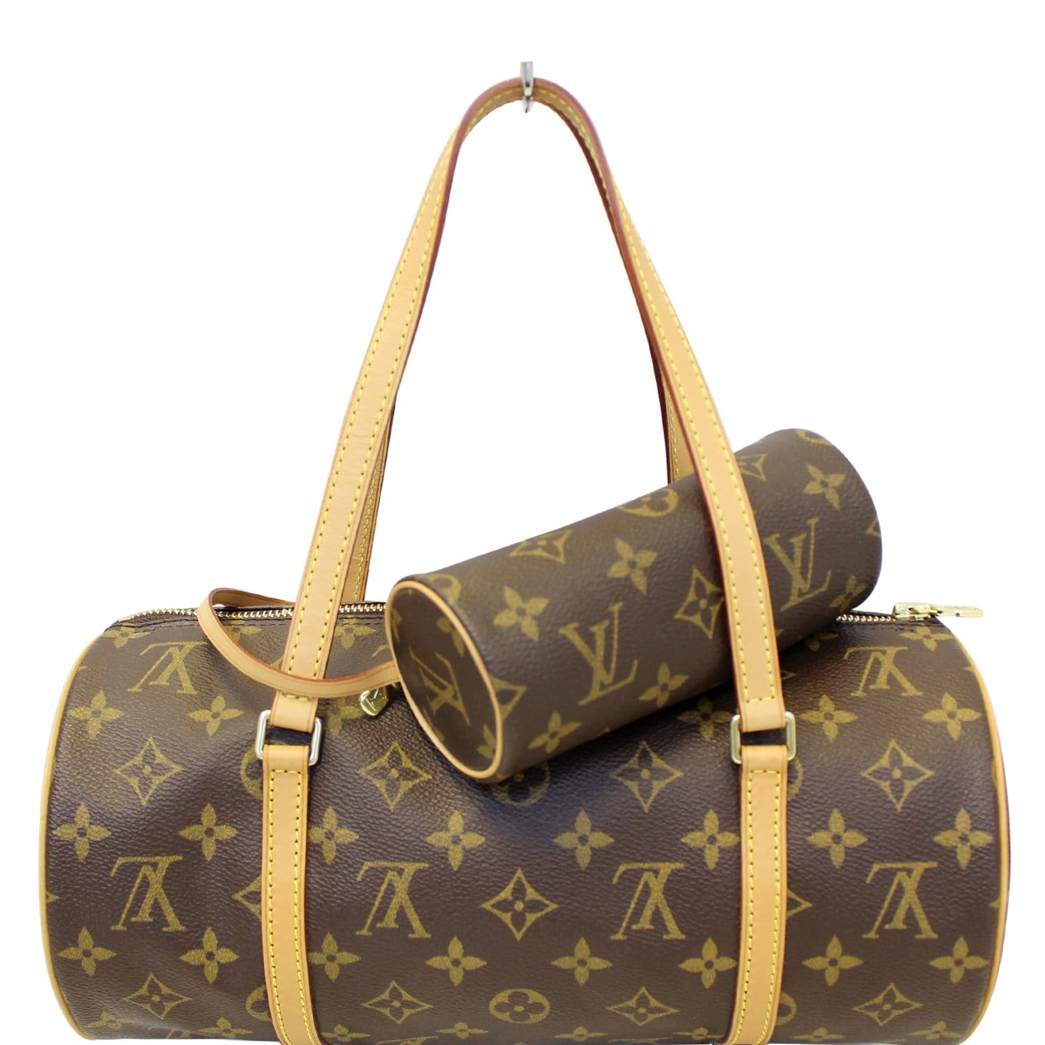 LOUIS VUITTON Papillon 30 Monogram Canvas Shoulder Bag-US 07dad8cb64667