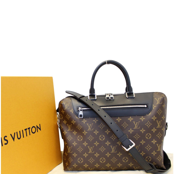 Louis Vuitton Porte-Documents Jour Briefcase Bag - front view