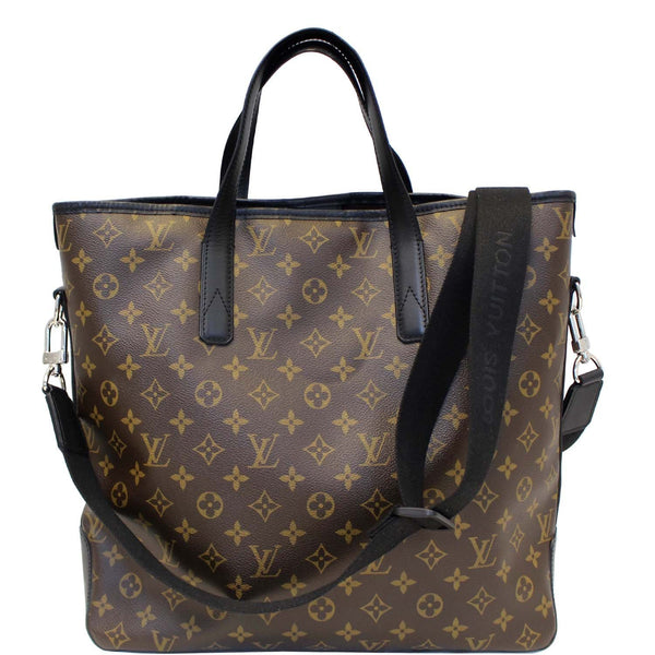 Louis Vuitton Davis Monogram Macassar - Lv Tote Shoulder Bag