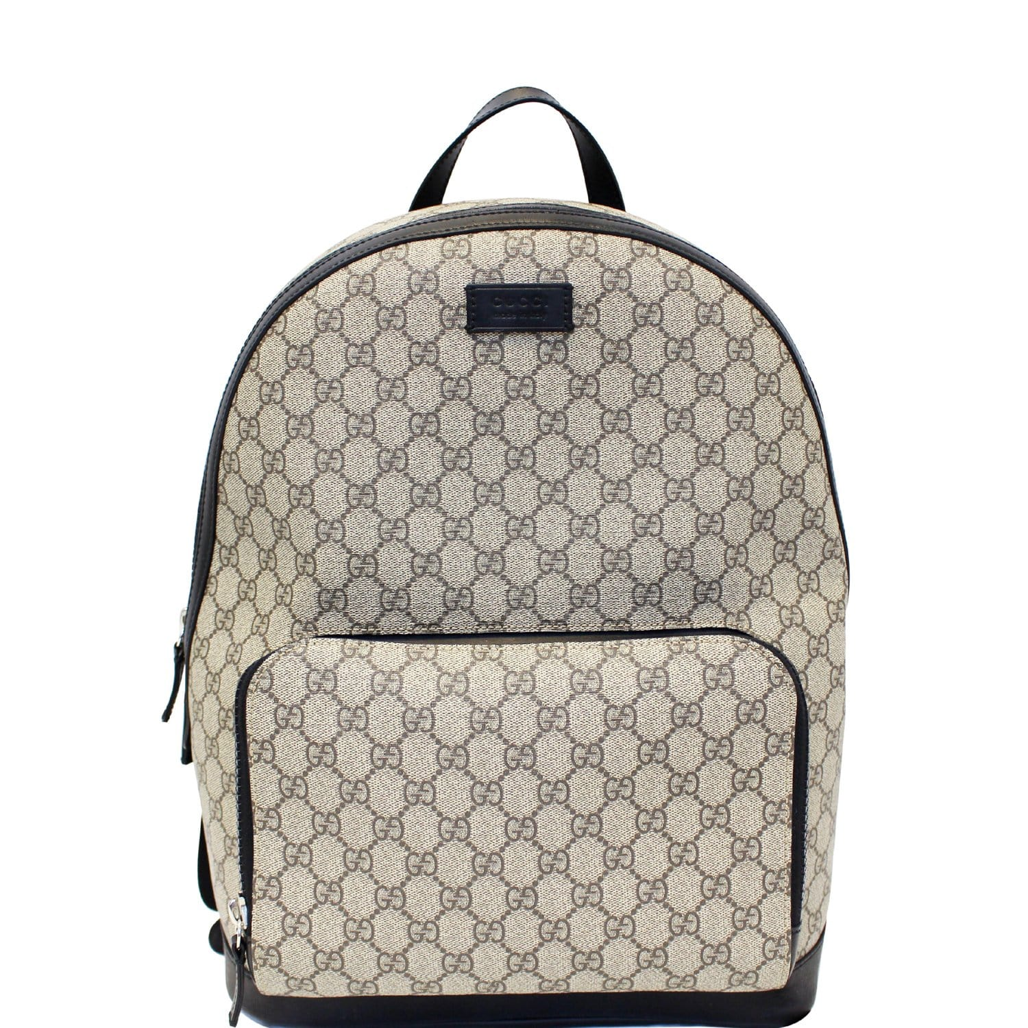 edc826b9419b GUCCI GG Monogram Supreme Backpack Bag-US