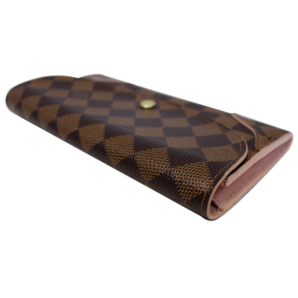 Louis Vuitton Caissa  - Lv Damier Ebene Wallet - lv leather