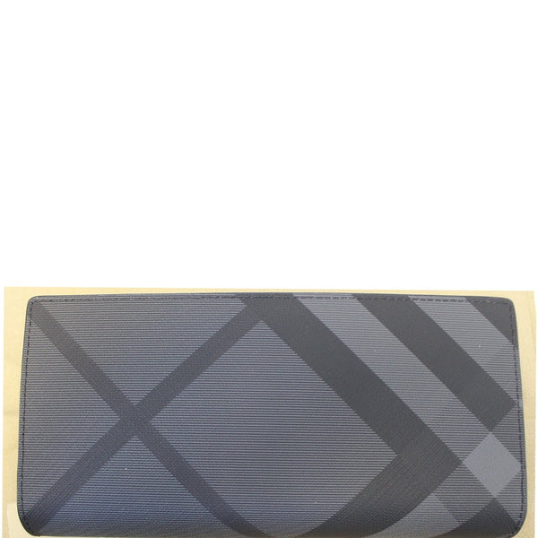BURBERRY London Check and Leather Continental Wallet-US