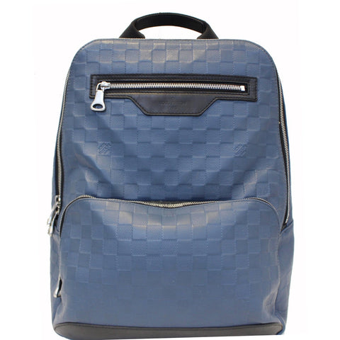 LOUIS VUITTON Avenue Damier Infini Leather Backpack Bag Astral