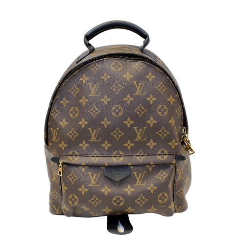 LOUIS VUITTON Palm Springs MM Monogram Canvas Backpack Bag