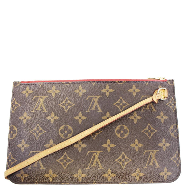 Louis Vuitton Neverfull MM Pouch Wristlet Pochette
