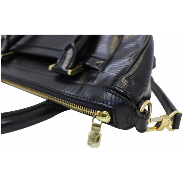 Louis Vuitton Dhanura MM Epi Leather Zipper Handbag