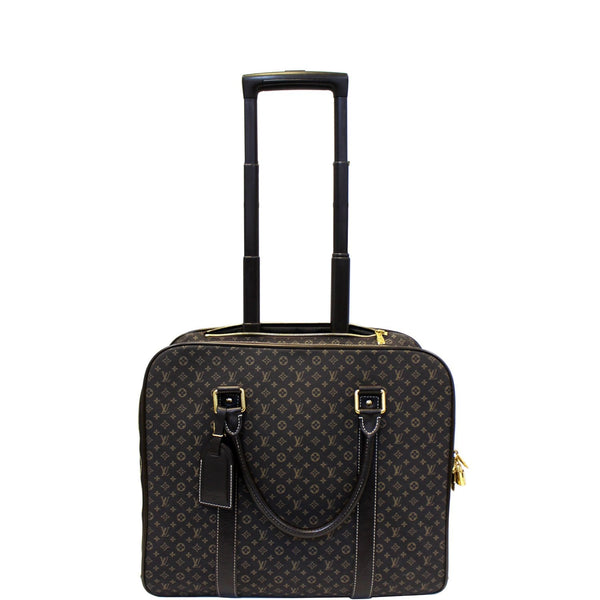 LOUIS VUITTON Monogram Idylle Epopee Rolling Suitcase Luggage-US
