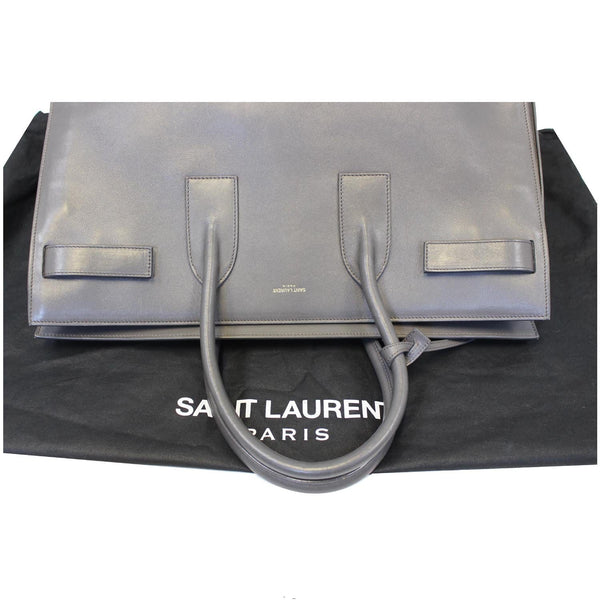 Yves Saint Laurent Sac de Jour Satchel Bag - bottom view