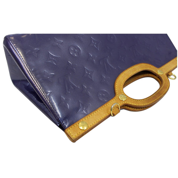 Louis Vuitton Roxbury Clutch Monogram Vernis - side view