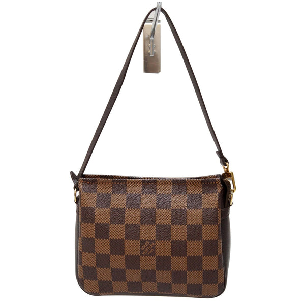 Louis Vuitton Damier Ebene Truth Makeup Pouch Bag - lv strap