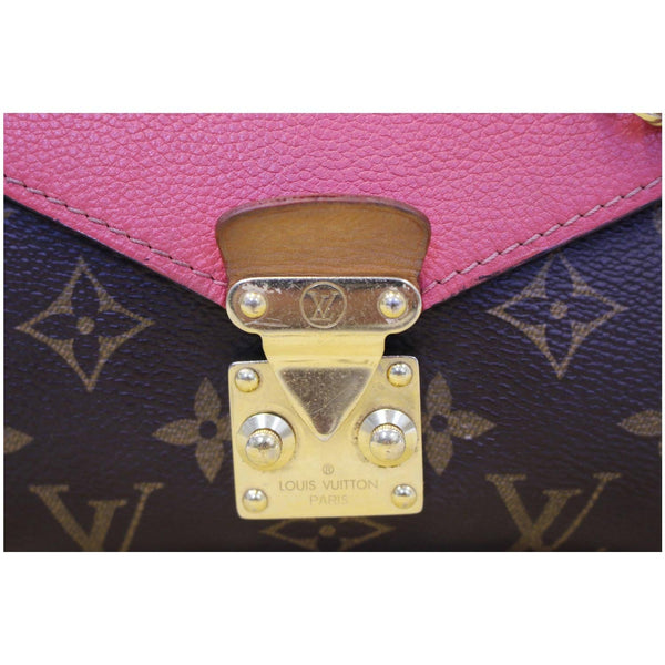 Lv Pallas Chain Monogram Canvas tote Bag Gold Hardware