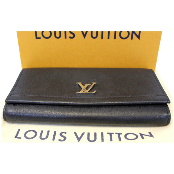 Louis Vuitton Lockme II Calfskin Leather Bag full view