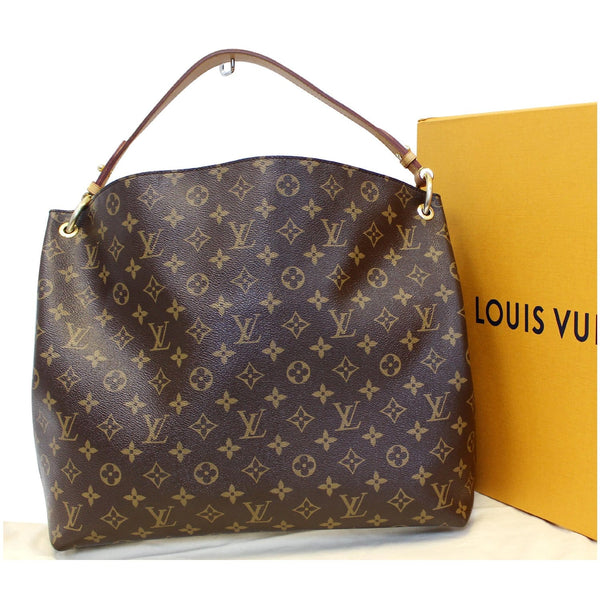 Louis Vuitton Graceful MM - Lv Monogram Canvas Shoulder Bag - shop