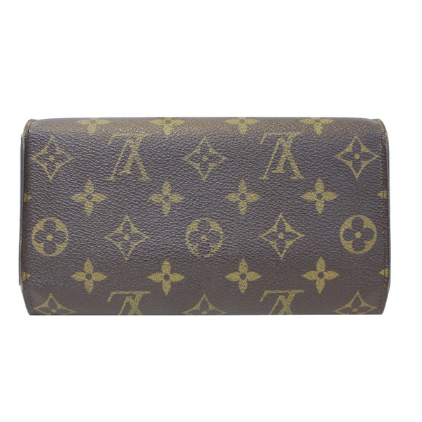 louis Vuitton Porte Tresor International Wallet brown