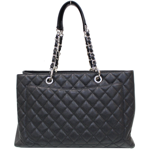 Chanel Tote Bag XL Grand Shopping Caviar Leather with black strap