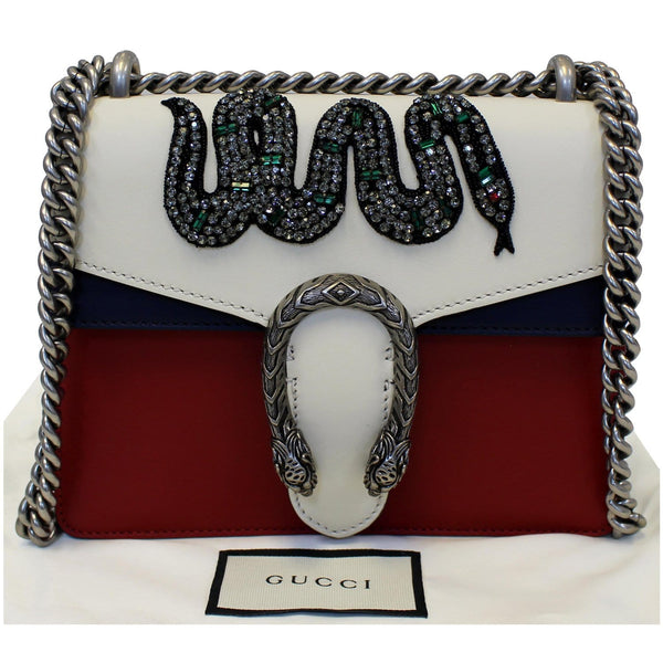 Gucci Dionysus Mini Crystal Embroidered Snake Bag - for sale